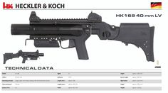 Heckler & Koch - HK169 40 mm LV Save those thumbs & bucks w/ free shipping on this magloader I purchased mine http://www.amazon.com/shops/raeind No more leaving the last round out because it is too hard to get in. And you will load them faster and easier, to maximize your shooting enjoyment. loader does it all easily, painlessly, and perfectly reliably