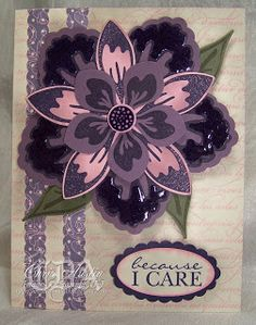CARD with BUILD A BLOSSOM and BLOSSOM PETALS BUILDER ... * Luv 2 Cre8 With U! *: Punches