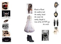"""""""1797 Laughing Jack"""" by padfoots-girl on Polyvore featuring beauty, Couture by Lolita, Rebecca Minkoff, Clarks, Prada and Fit-to-Kill"""