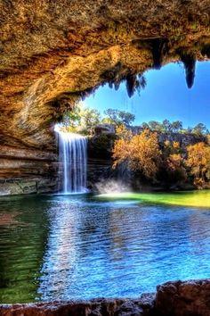 Hamilton Pool, Texas United States