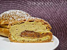Pourquoi pas .... ??: Paris-Brest - Philippe Conticini Le Paris Brest, Bread, Desserts, Food, Sweet Recipes, Sweet Treats, Tailgate Desserts, Deserts, Brot