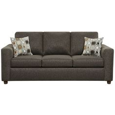 Flash Furniture 3603VIVIDONYX-GG Exceptional Designs Vivid Onyx Fabric Sofa