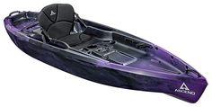 Ascend® D10T Sit-On-Top Kayak - Purple/Black   Bass Pro Shops