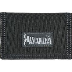 Maxpedition 0218B Micro Wallet, Black by Maxpedition. $12.79