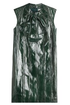 NINA RICCI - Snake Leather Dress  STYLEBOP.com