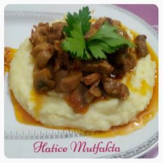Lyrics of the Artists You Like Turkish Recipes, Ethnic Recipes, Turkish Kitchen, Mashed Potatoes, Sultan, Pizza, Cooking, Desserts, Food