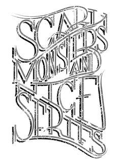 Scary Monsters and Nice Serifs by Rough&Greedy