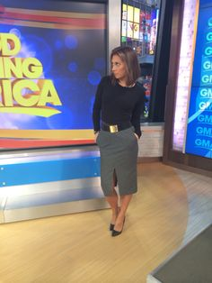 The skirt & top are Aritzia - the belt I bought at @bcbg