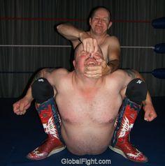 torturing his wrestling victim