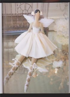 Ballerina doll pattern and tutorial
