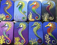 Polymer Clay Seahorse Journal Folklore To Fantasy