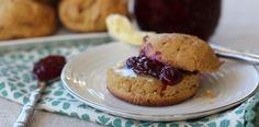 #paleo Sweet Potato Plantain Drop Biscuits