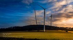 Wind Energy by florianteichmann #architecture #building #architexture #city #buildings #skyscraper #urban #design #minimal #cities #town #street #art #arts #architecturelovers #abstract #photooftheday #amazing #picoftheday