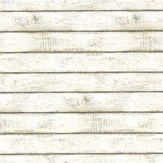 Whitewashed Plank Wallpaper