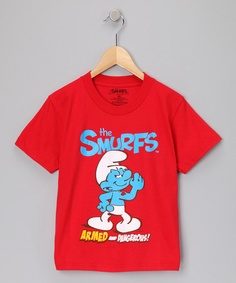 Take a look at this Red & Blue 'Smurfs' Tee - Kids by Smurfs on #zulily today!