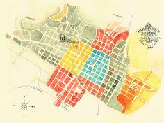 bogotá map