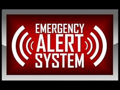 HEADS UP! FEMA Conducts Emergency Alert System Test Nationwide! 22 States!!! - YouTube