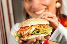 Das Rezept für Afrikan Burger mit allen nötigen Zutaten und der einfachsten Zubereitung - gesund kochen mit FIT FOR FUN