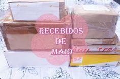 Recebidos/unboxing Maio 2015 • Dani Moura