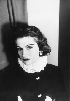 Coco Chanel, 1937, photo by George Hoyningen-Huene