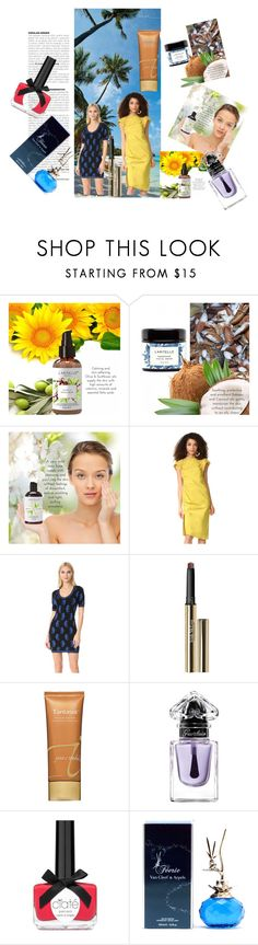 """LARITELLE Facial Care"" by masarambhavani ❤ liked on Polyvore featuring beauty, Rachel Comey, Boutique Moschino, Trish McEvoy, Jane Iredale, Guerlain and Van Cleef & Arpels"