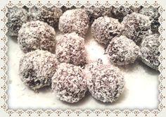Suikervrije chocoladeballen
