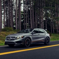 Brand new Mercedes GLA class 45amg First time I can say a Mercedes truly made my jaw drop with how sexy it is