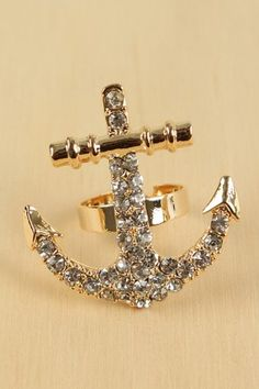 anchor ring! It would probably get stuck on everything but I still want it...