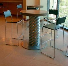 concrete table top ideas | concrete table top… | DIY Furniture Ideas