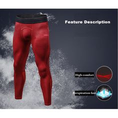Mens PRO Quick-drying High-elastic 3D Printed Skinny Legging Jogging Training Sport Pants is Durable-NewChic Mobile