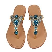 Jeweled Sandals | Rhinestone Sandals, Beaded Sandals & More
