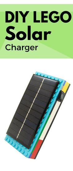 Never run out of power again! This is a unique DIY project perfect afternoon activity or gift! Great for a makerspace for kids or adults of any age. Solar Energy, Solar Power, Electronic Kits, Stem Learning, Solar Charger, Help Teaching, Easy Diy Projects, Age, Robots