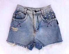 Short infantil jeans