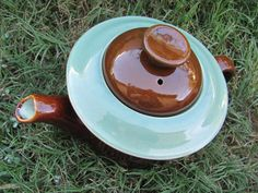 Redwing of Zanesville Ohio, Oomph or Country Faire teapot.
