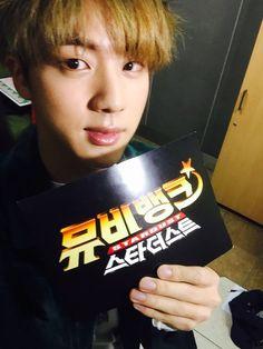 Jin via Twitter @kbs2stardust [041215]