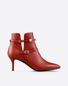 Valentino| Red Ankle Boot
