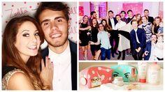 Zoella Beauty Launch Party! Matte Nails, Gel Nails, Zoella Beauty, British Youtubers, Suncatcher, Nail Shop, Launch Party, Girl Online, Nails Magazine