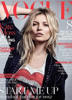 Kate Moss honours Rolling Stones for 37th Vogue cover