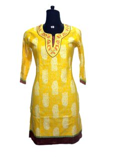 20%off PRINTED KURTI BOLLYWOOD STYLE DESIGNER ETHNIC TUNIC DRESS