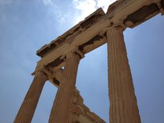 Detail of Acropolis, Athens august 2012