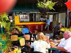 Bombas Beach Bar & Restaurant in Mullins Beach Bars, Barbados, Places To Eat, Restaurant Bar, Restaurants, Restaurant