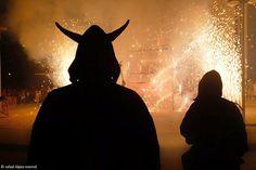 Nit de Foc. Festa Major de Sant Roc, Hospitalet de l'Infant. © RLM