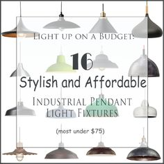 Choose a Perfect Kitchen Island Light Fixture affordable industrial pendant light fixtures most unde Industrial Light Fixtures, Industrial Pendant Lights, Bathroom Light Fixtures, Pendant Light Fixtures, Industrial House, Industrial Bathroom, Bathroom Lighting, Eclectic Bathroom, Rustic Bathrooms