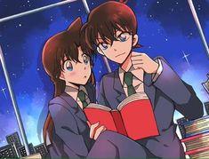Ran And Shinichi, Kudo Shinichi, Detective Conan Ran, Magic For Kids, Kaito Kid, Detective Conan Wallpapers, Detektif Conan, Magic Kaito, Case Closed