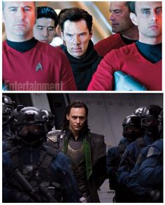 """I thought of Loki the minute that scene came. """"good"""" villains have grand entrances, right?"""