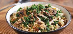 Savory Mushroom Rice Bowl