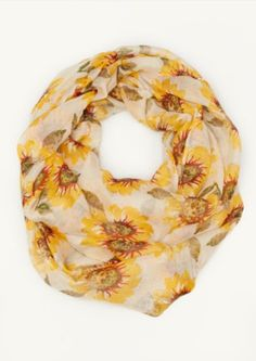 Sunflower Infinity Scarf   Scarves   rue21