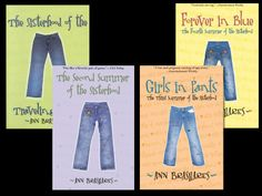 WANT TO READ-sisterhood of the traveling pants
