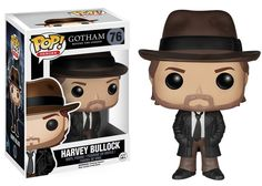 Funko POP! HARVEY BULLOCK Gotham #76 Vinyl Figure