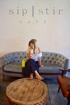sip | stir cafe #café #coffeelover